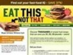 Eat This Not That Book Coupon Codes & Deals