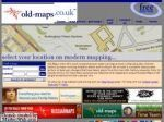 Old-maps.co.uk Coupon Codes & Deals
